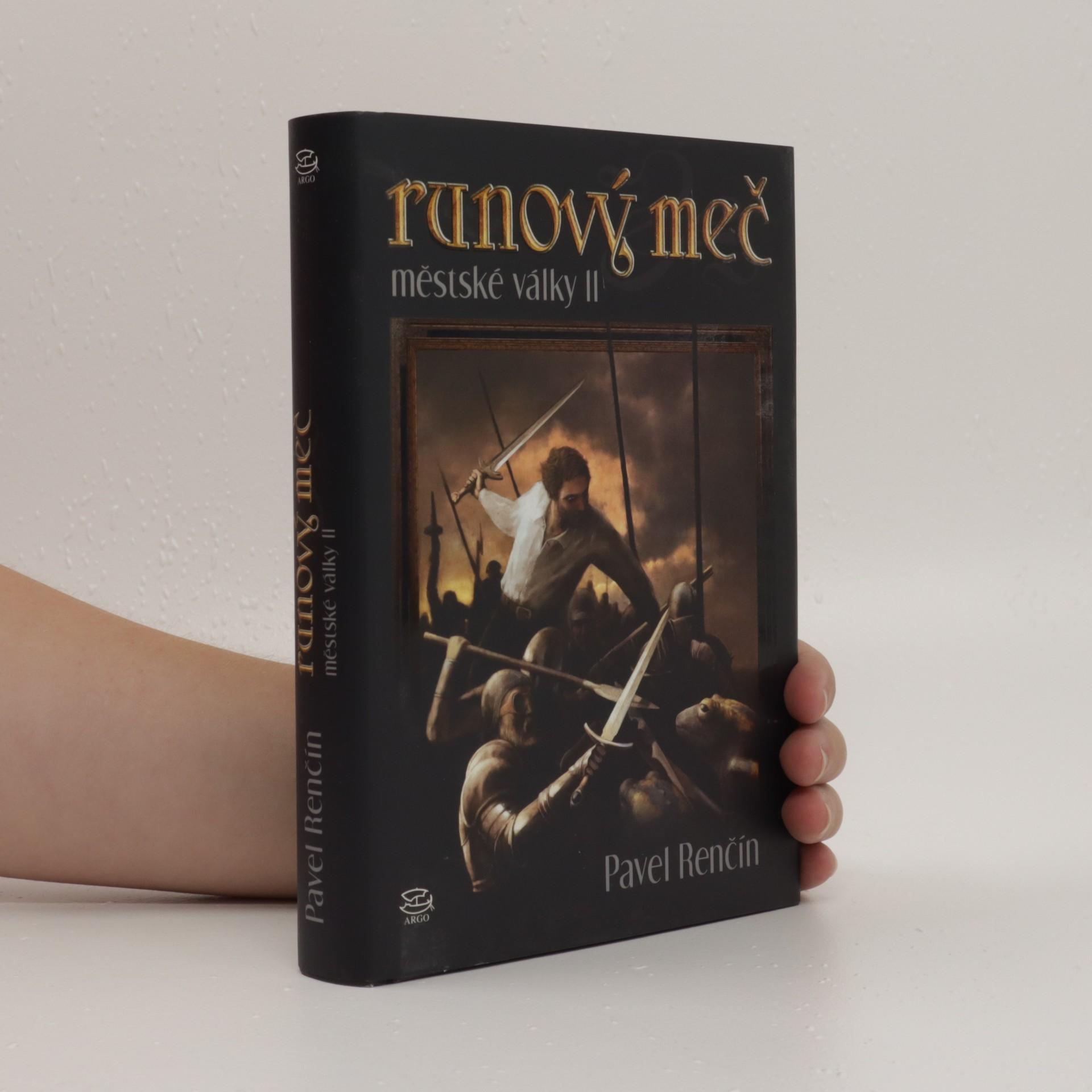 antikvární kniha Runový meč : městské války. II., 2009