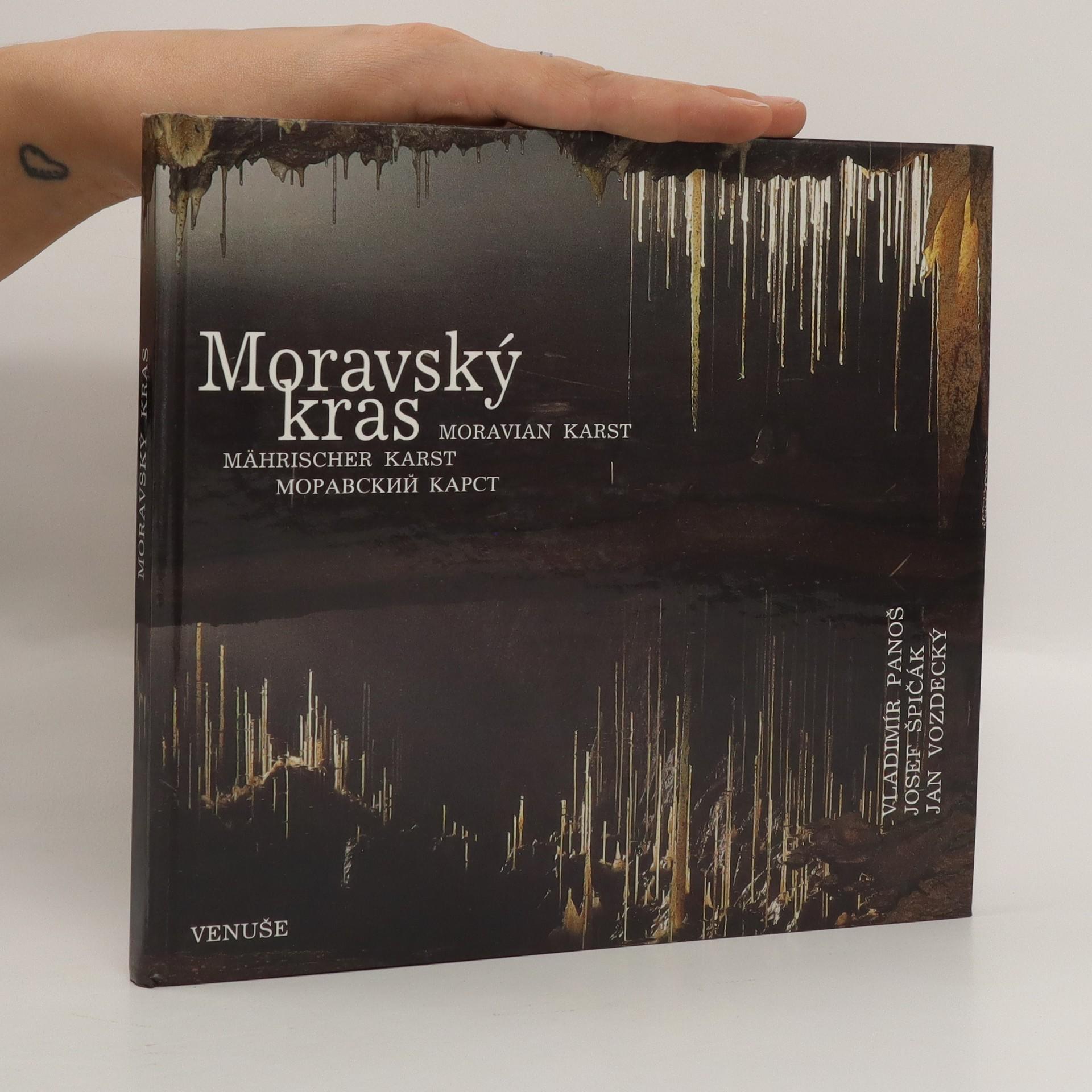antikvární kniha Moravský kras, 1992