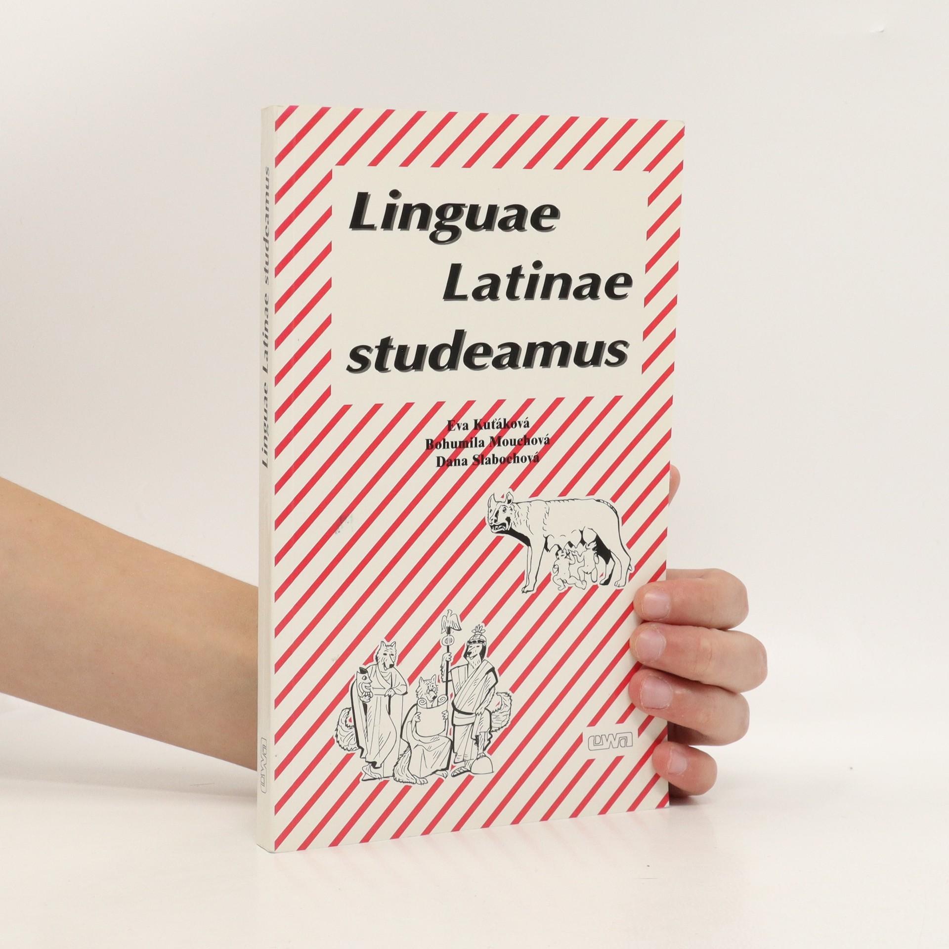 antikvární kniha Lingua Latinae studeamus, 1998