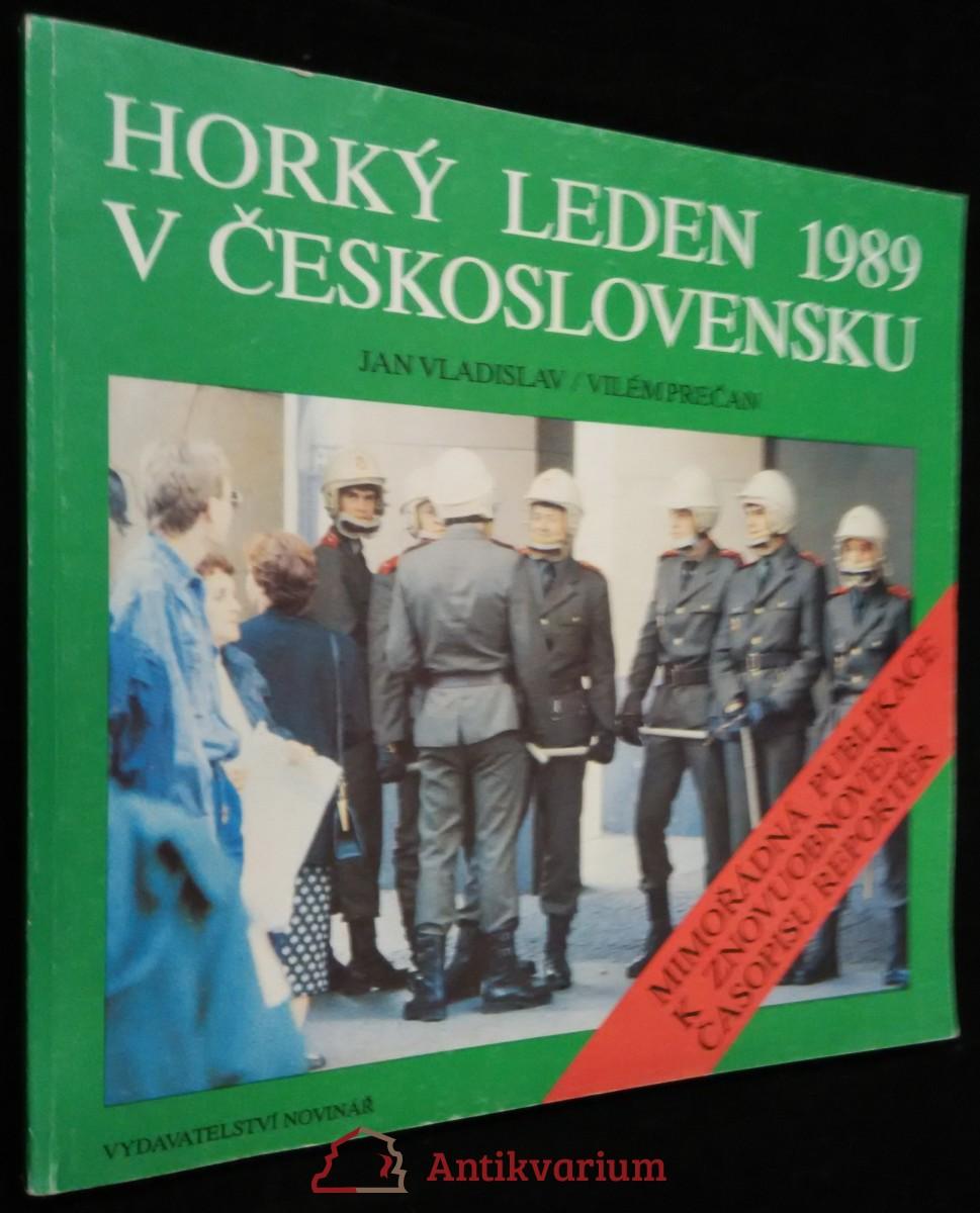 antikvární kniha Horký leden 1989 v Československu, 1990