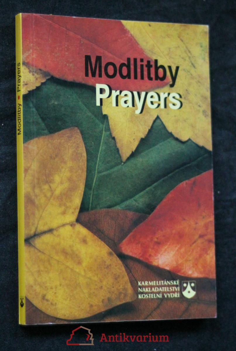 antikvární kniha Modlitby. Prayers, 2001