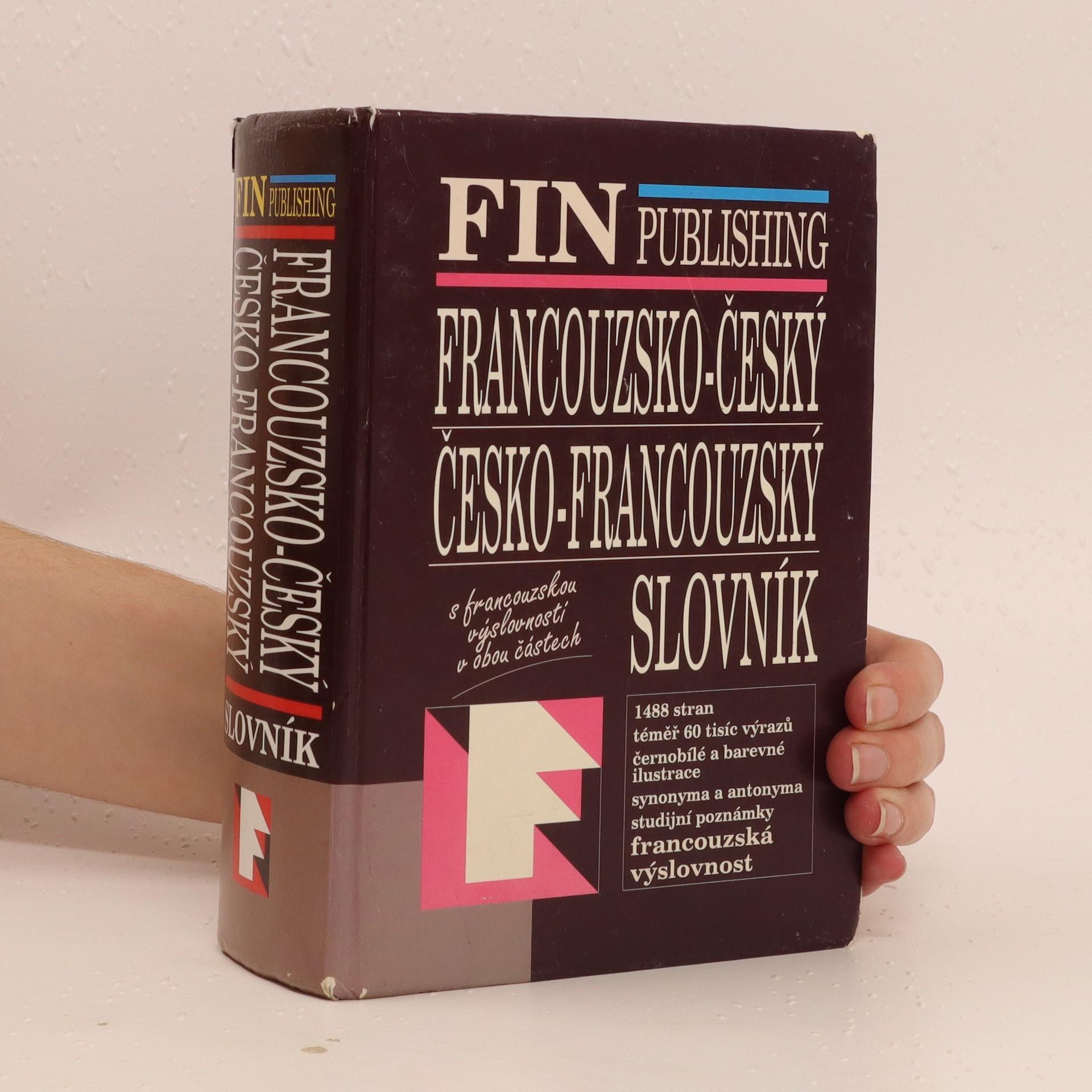 antikvární kniha Francouzsko-český, česko-francouzský slovník, 2004