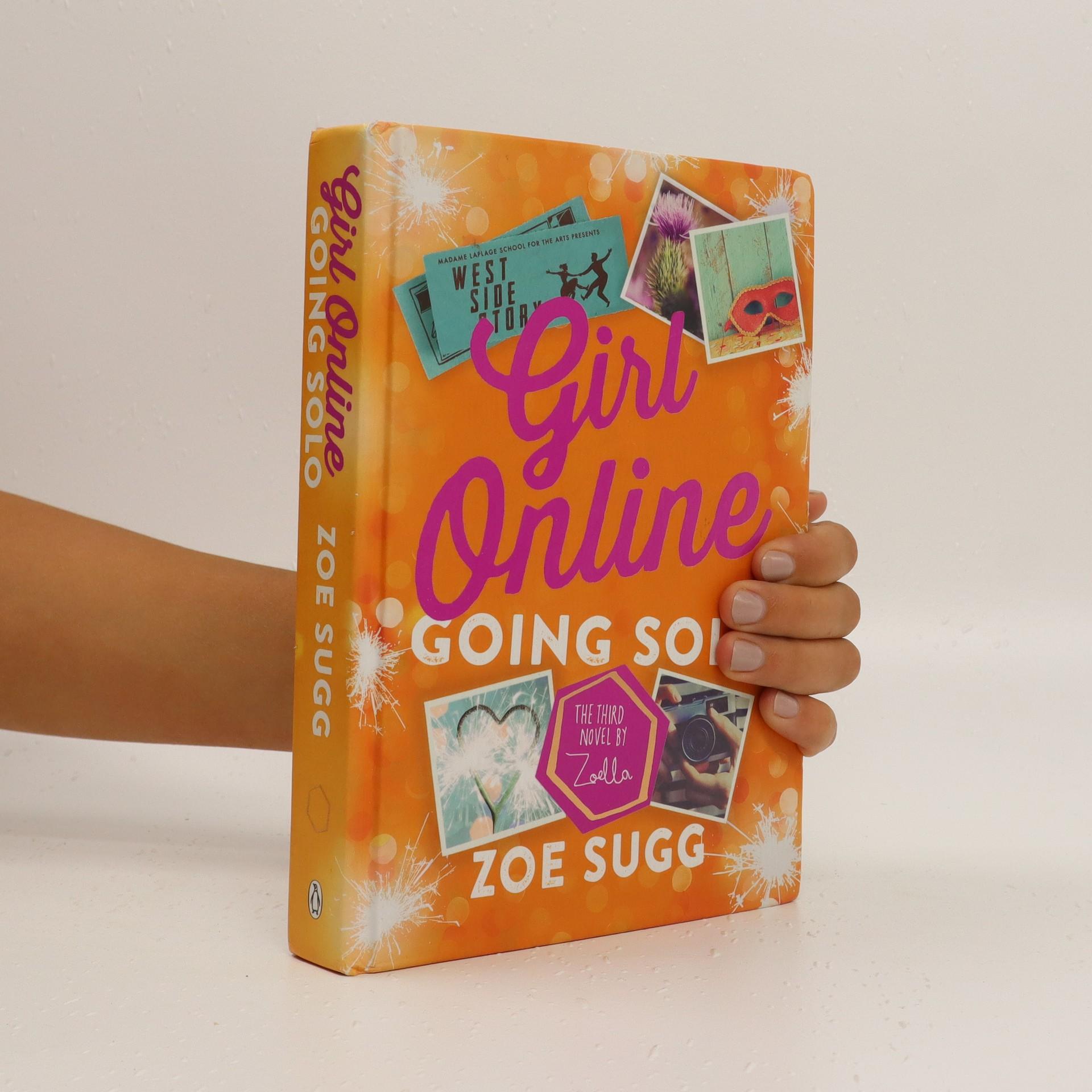 antikvární kniha Girl Online. Going solo, 2016