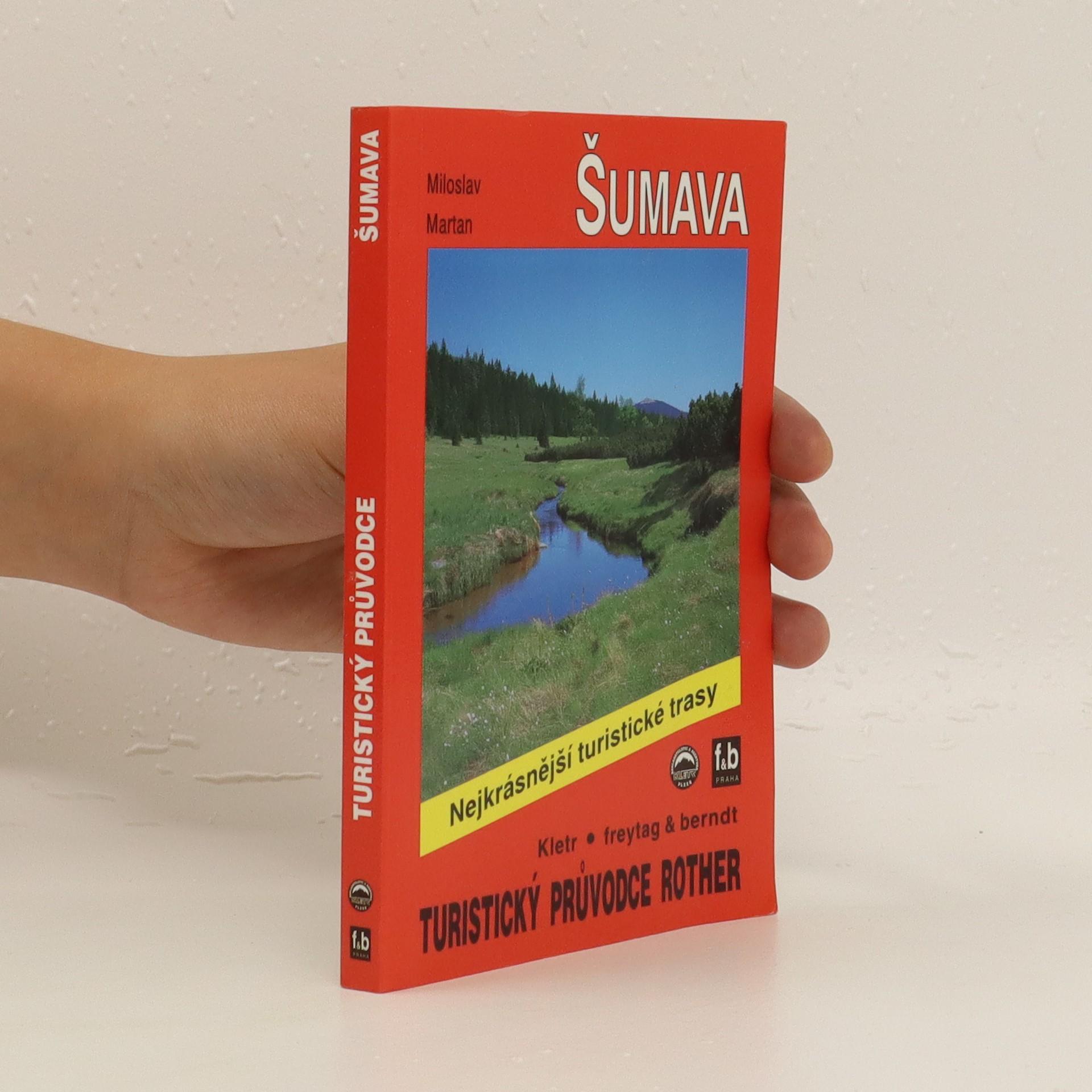 antikvární kniha Šumava, 1997