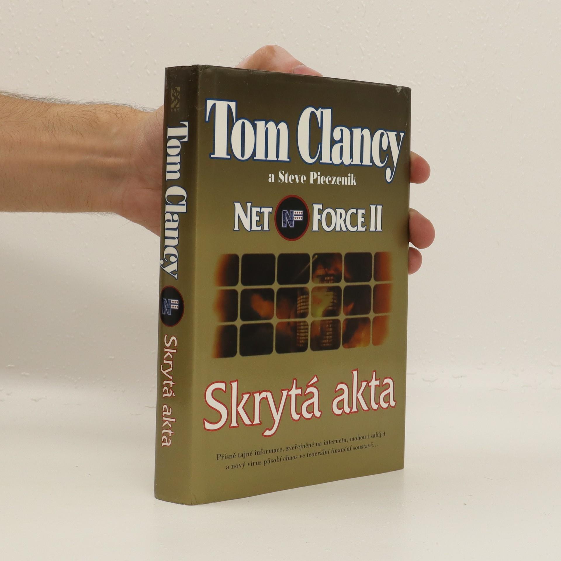 antikvární kniha Net Force: Skrytá akta, 2000