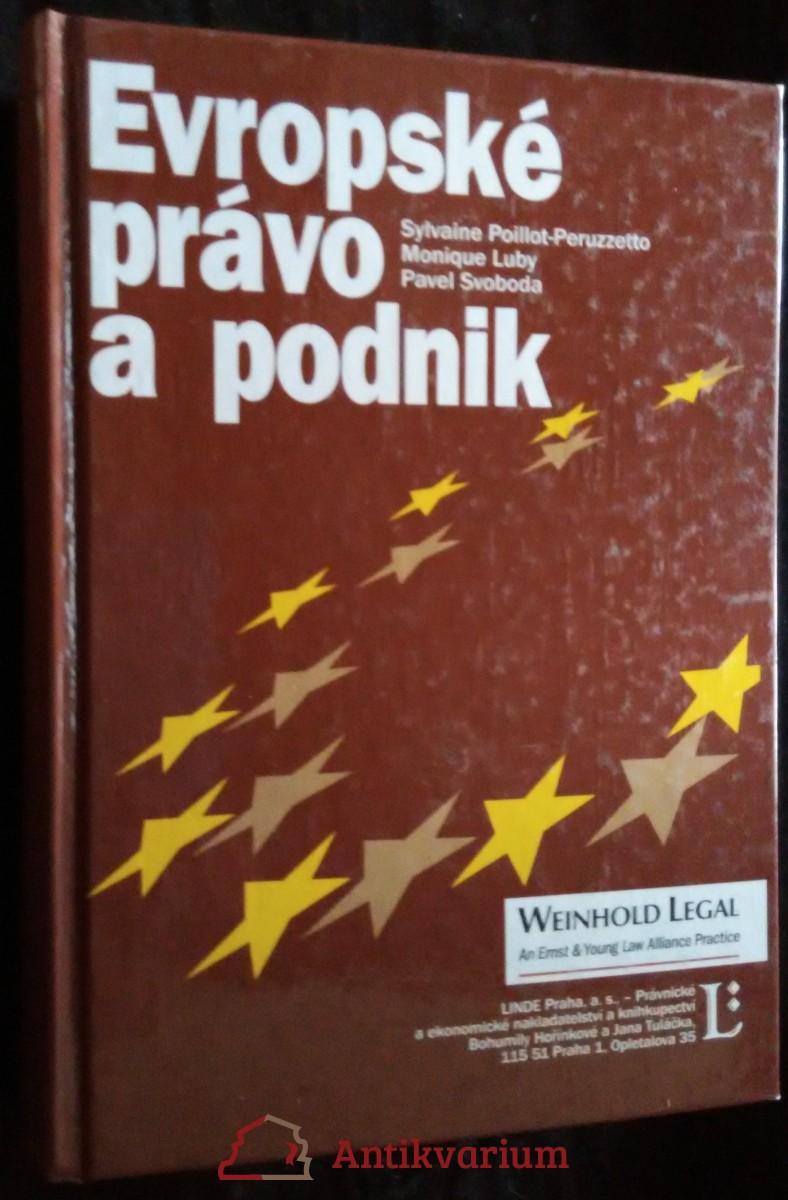 antikvární kniha Evropské právo a podnik, 2003