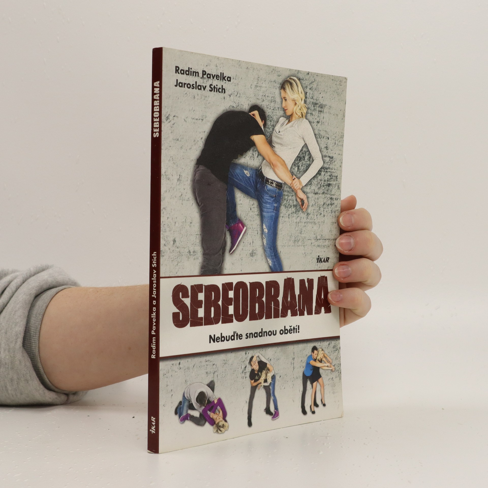 antikvární kniha Sebeobrana : nebuďte snadnou obětí!, 2015