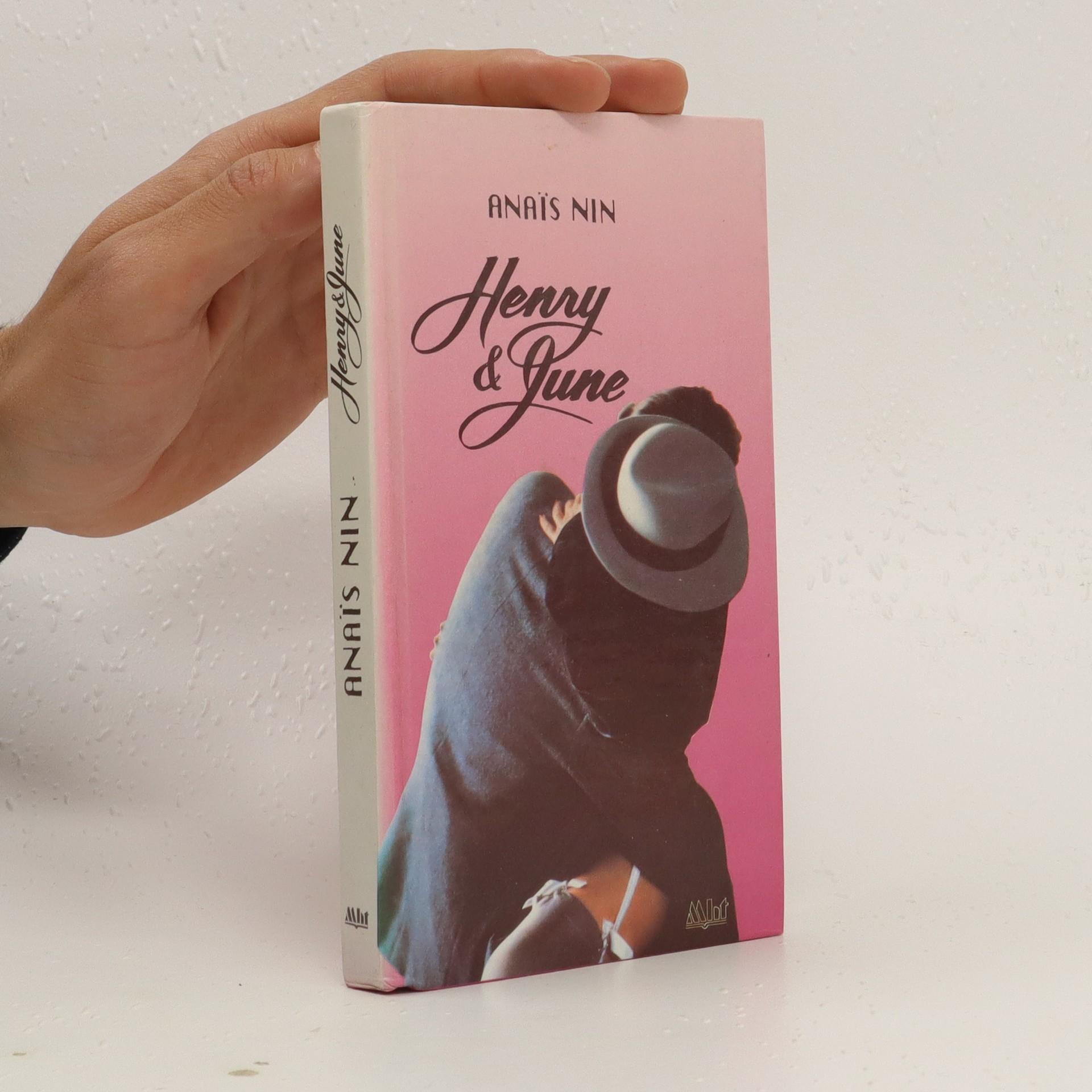 antikvární kniha Henry a June, 1992