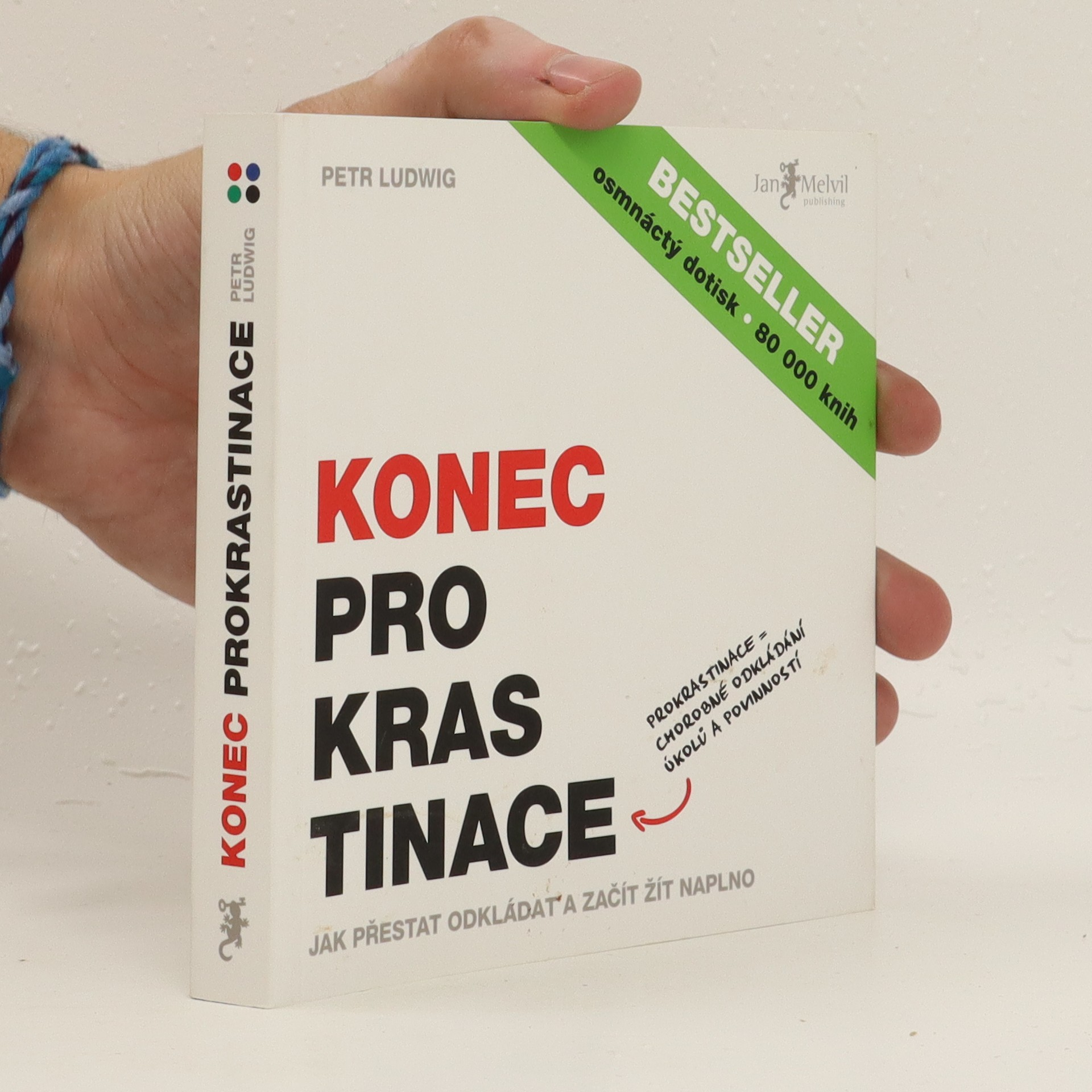 antikvární kniha Konec prokrastinace, 2013