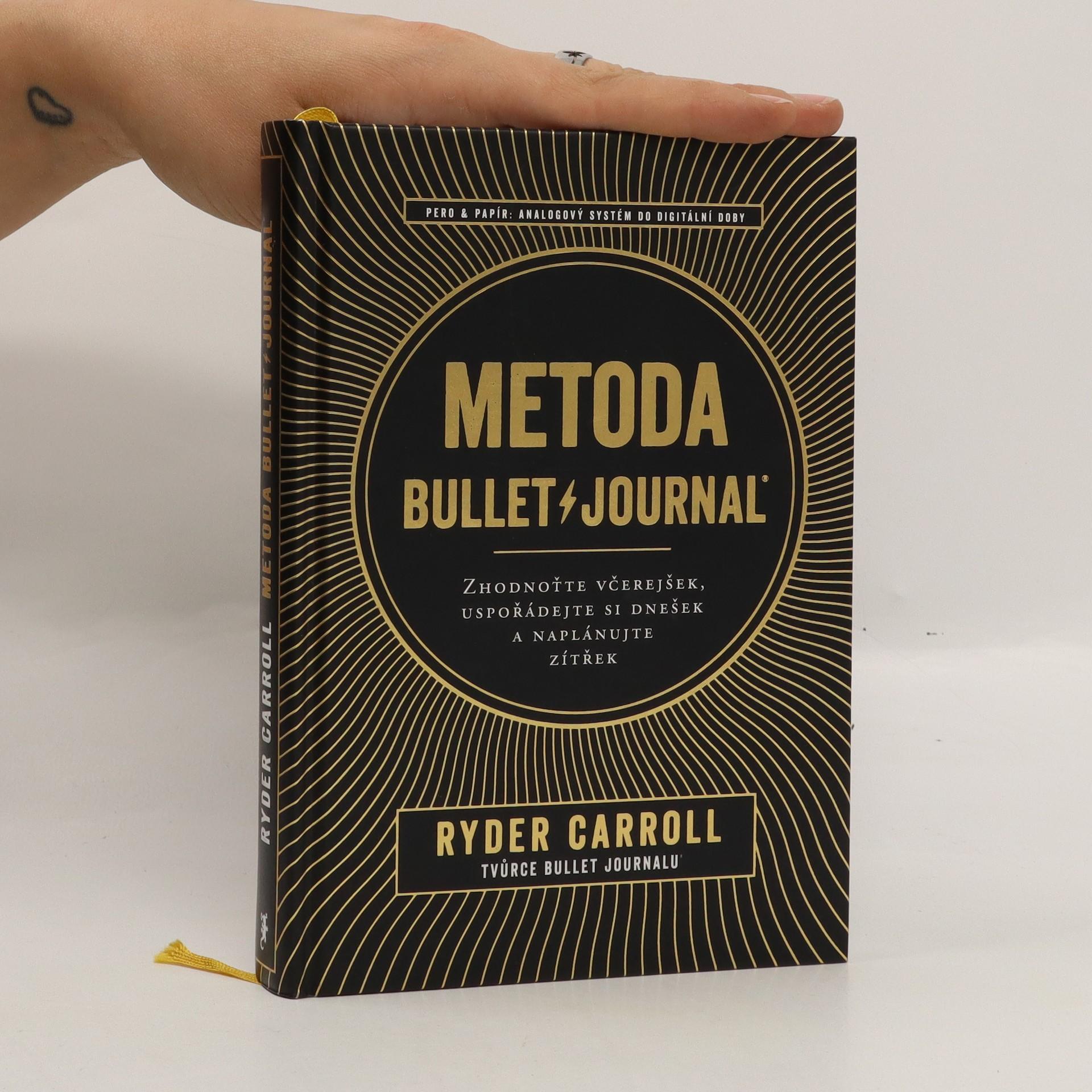 antikvární kniha Metoda Bullet Journal, 2019