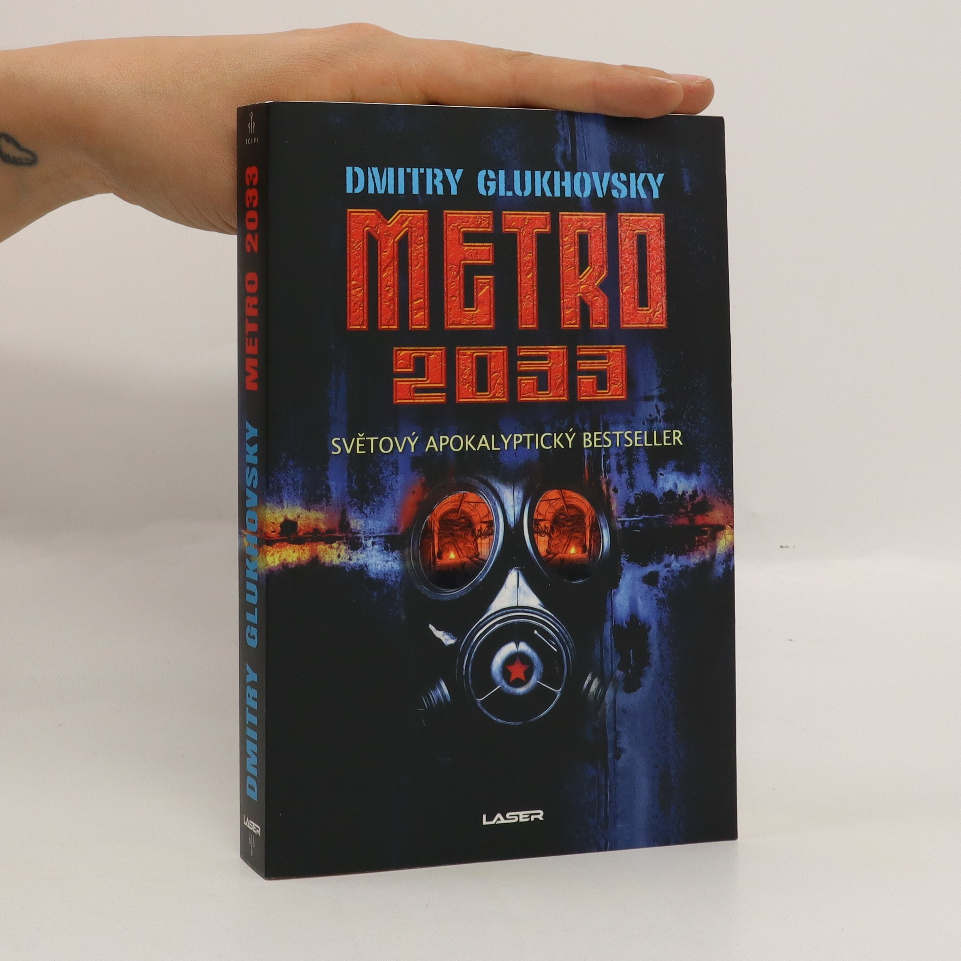 antikvární kniha Metro 2033, 2019