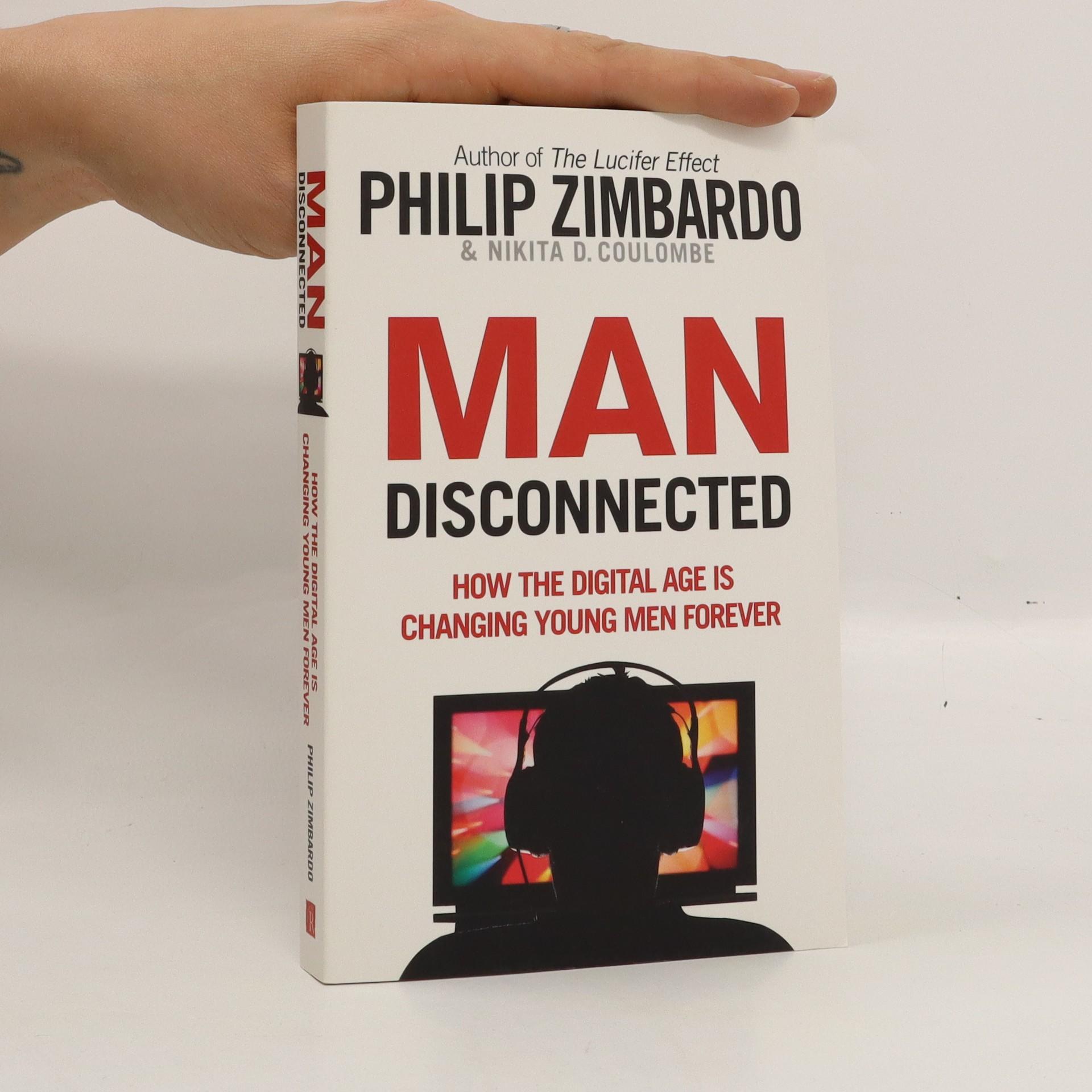 antikvární kniha Man Disconnected, 2016