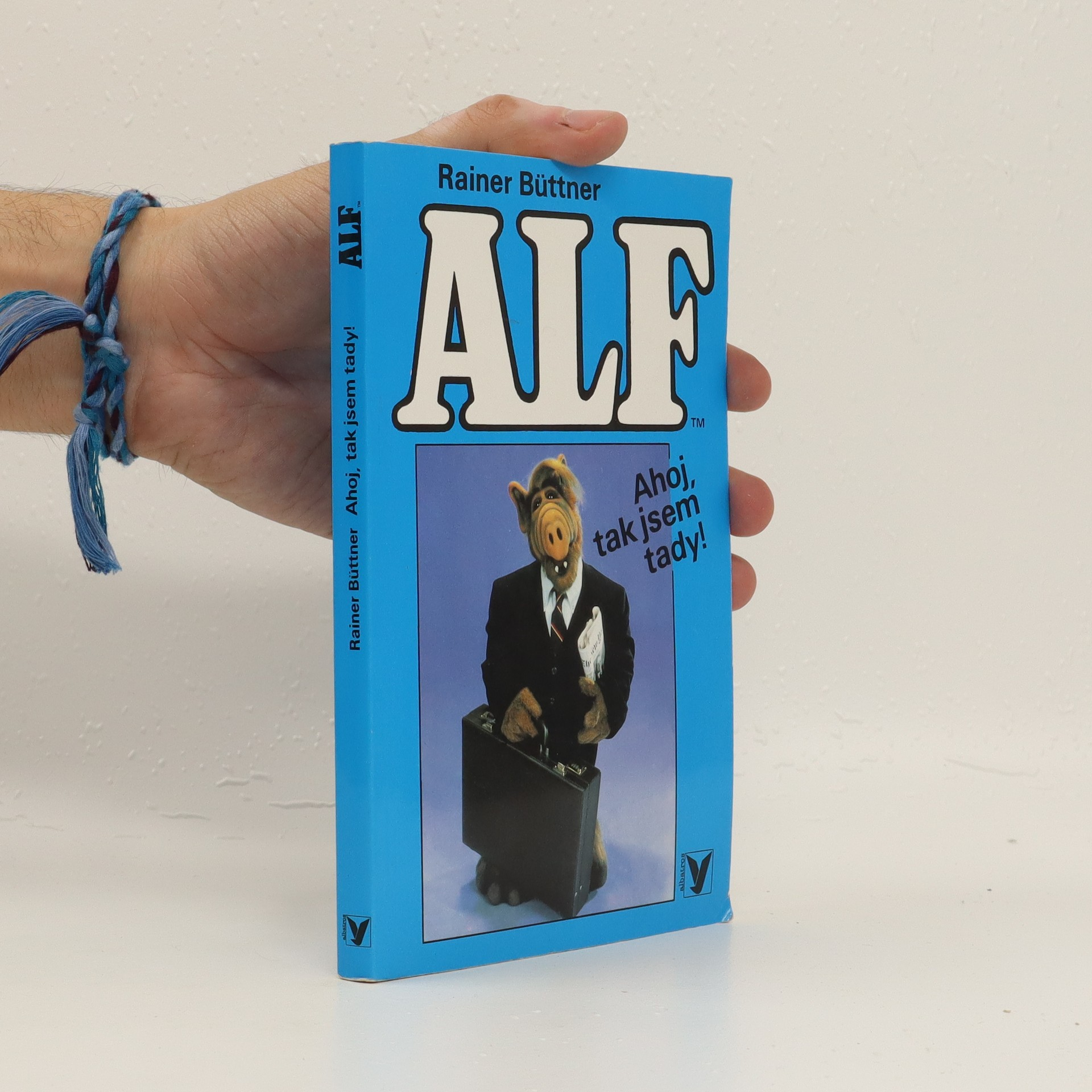 antikvární kniha Alf. Ahoj, tak jsem tady!, 1994