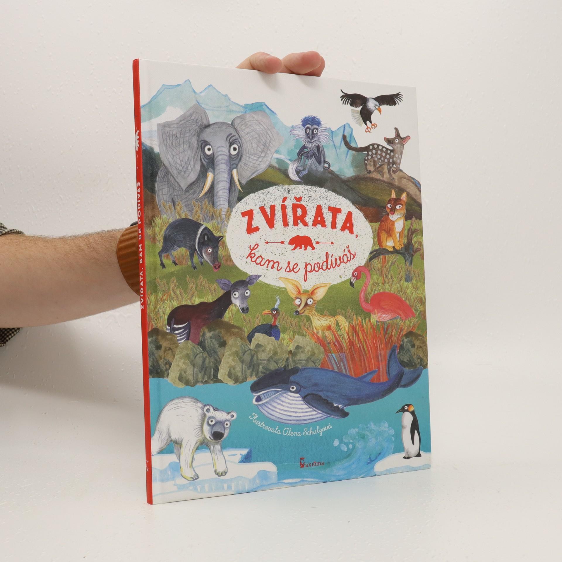 antikvární kniha Zvířata, kam se podíváš, 2017