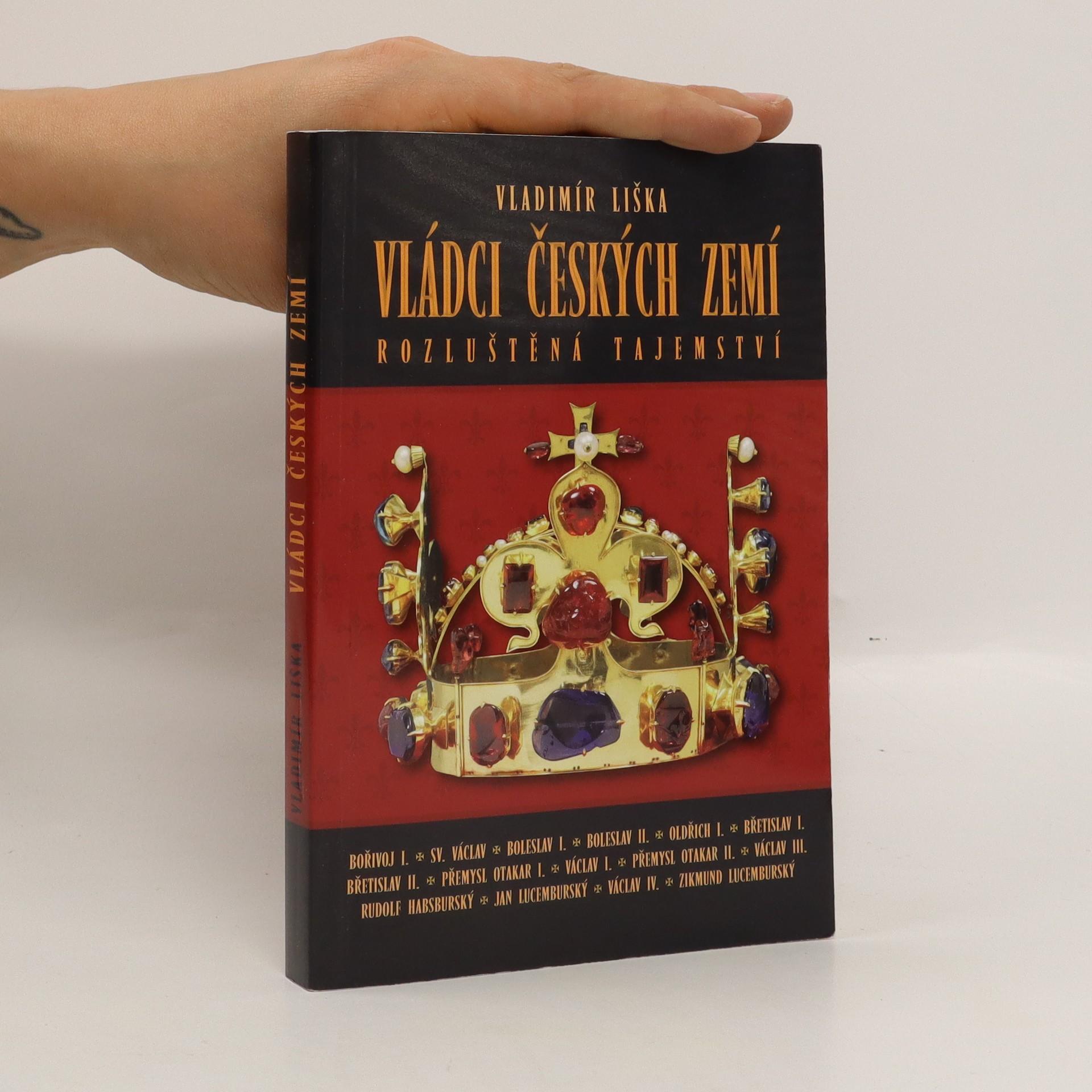 antikvární kniha Vládci českých zemí : rozluštěná tajemství, 2009