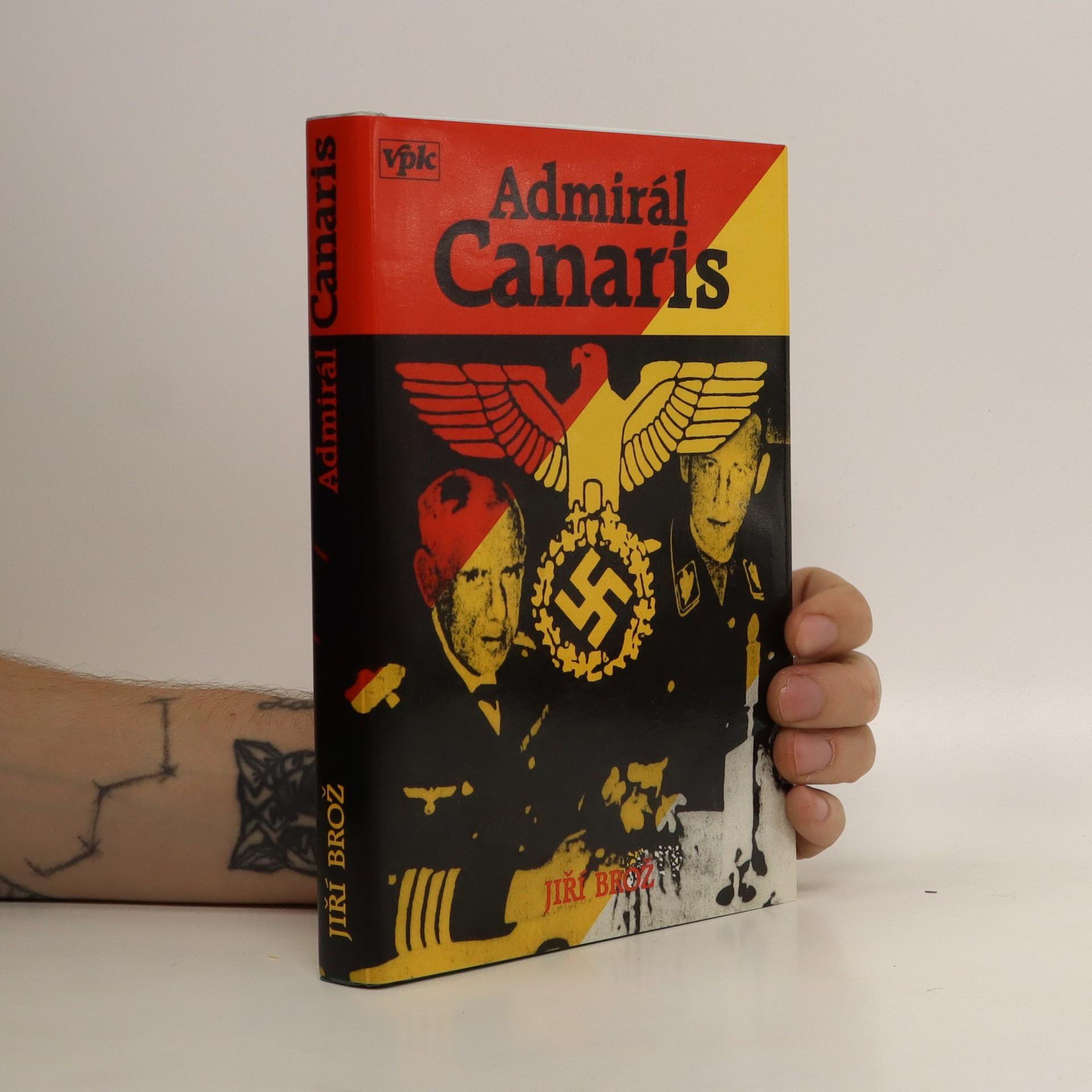 antikvární kniha Admirál Canaris a jeho Abwehr, 1995