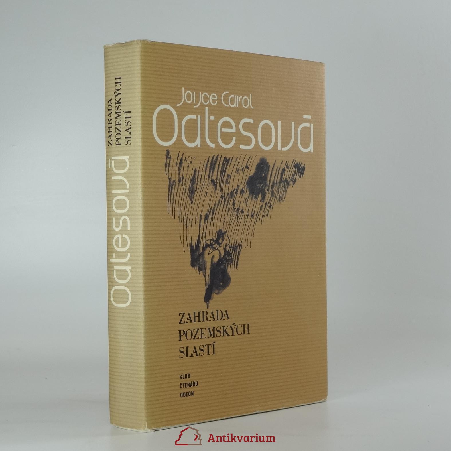 antikvární kniha Zahrada pozemských slastí, 1982