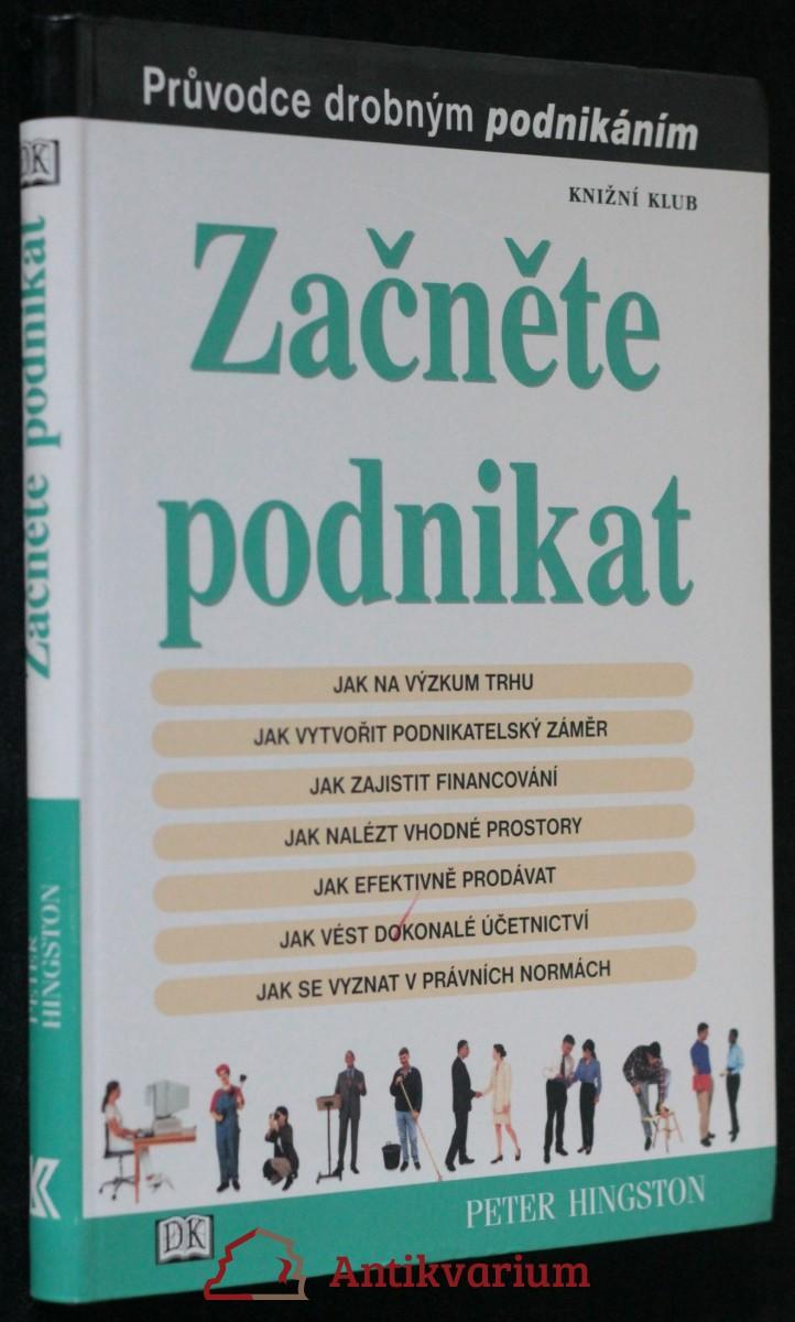 antikvární kniha Začněte podnikat. Průvodce drobným podnikáním, 2002