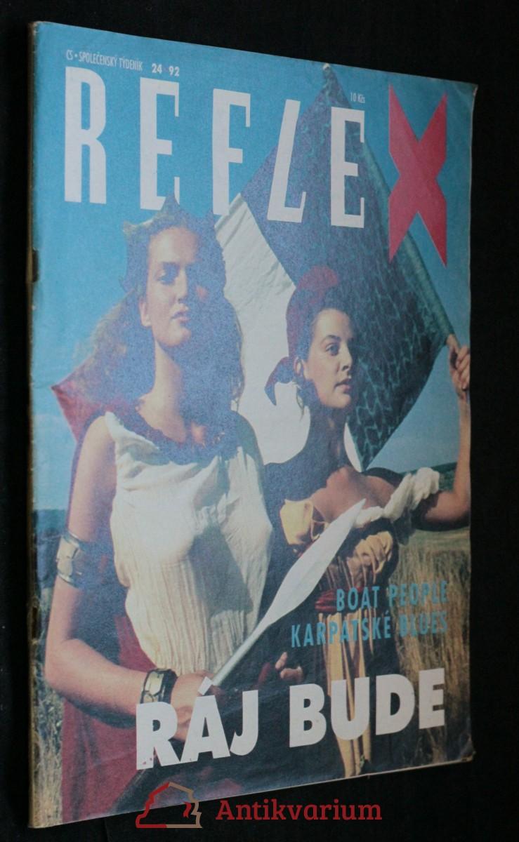 antikvární kniha Reflex, č. 24, 1992