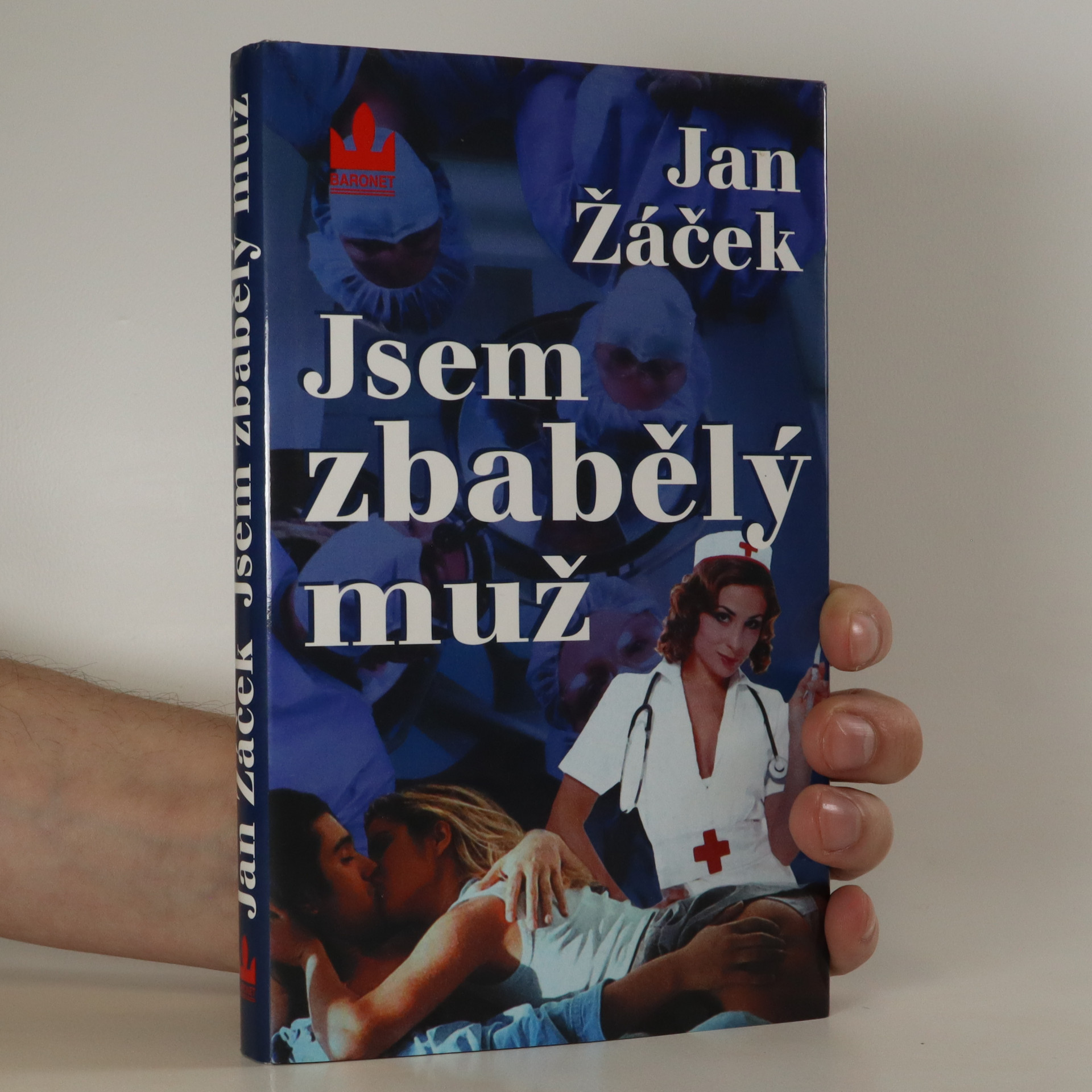 antikvární kniha Jsem zbabělý muž, 2002