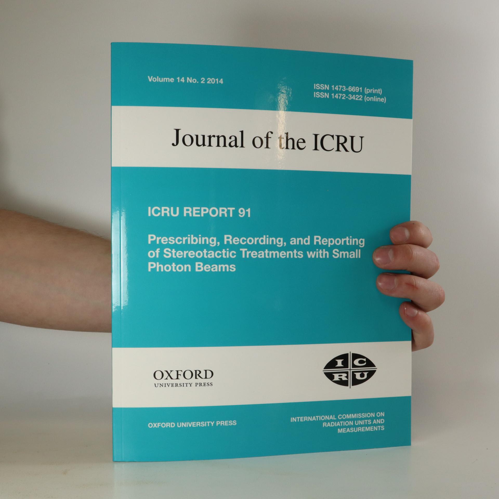antikvární kniha Journal of the ICRU, neuveden