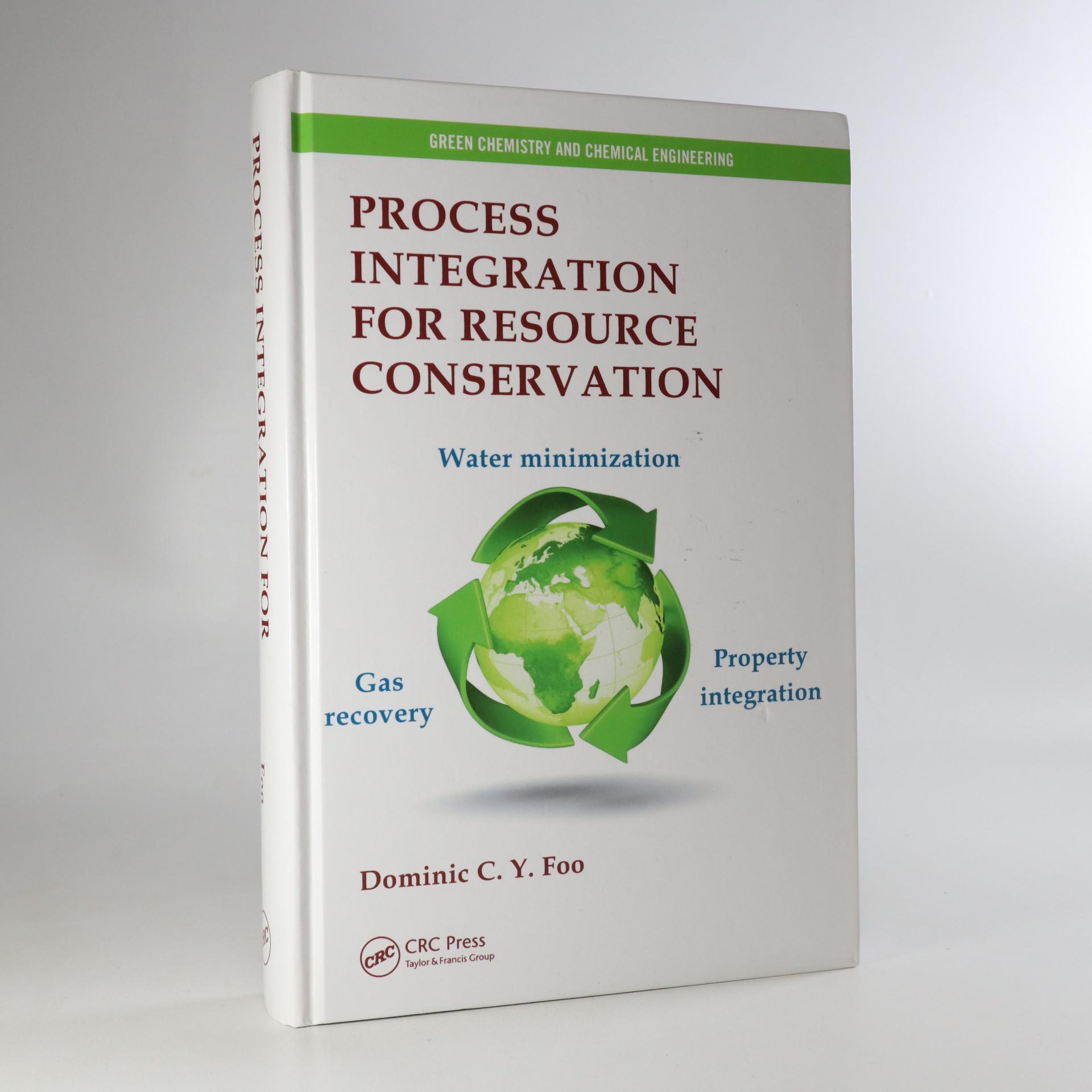 antikvární kniha Process Integration for Resource Conservation, neuveden