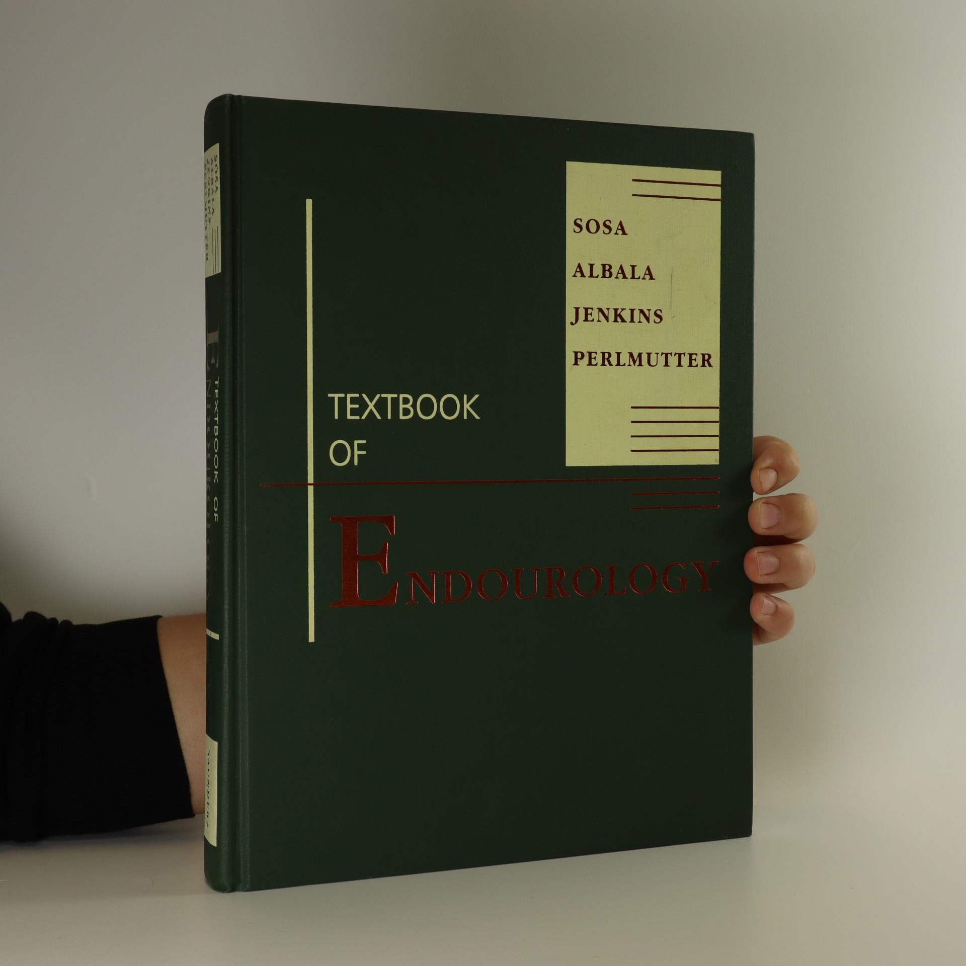 antikvární kniha Textbook of endourology, neuveden