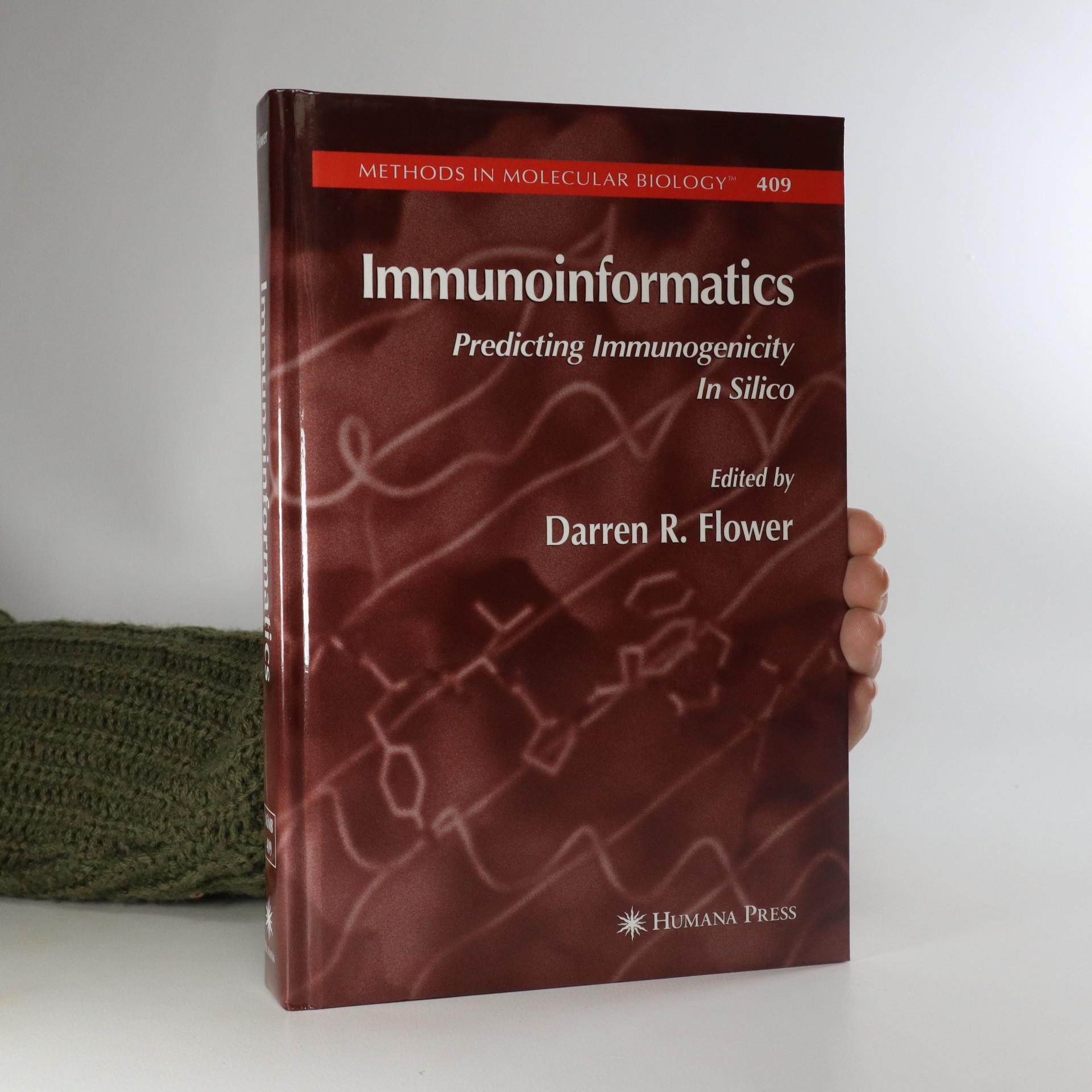 antikvární kniha Immunoinformatics, neuveden