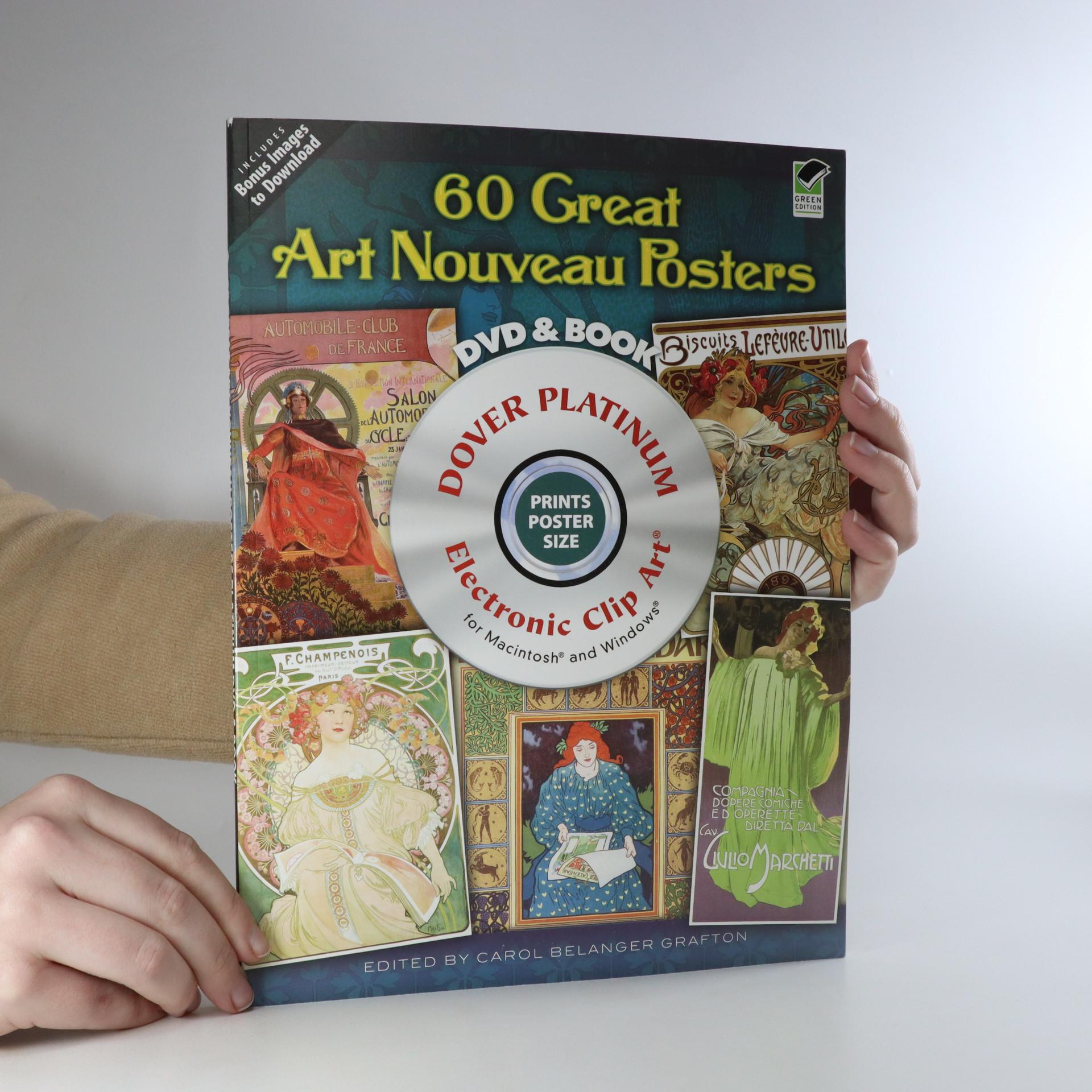antikvární kniha 60 Great Art Nouveau Posters, neuveden