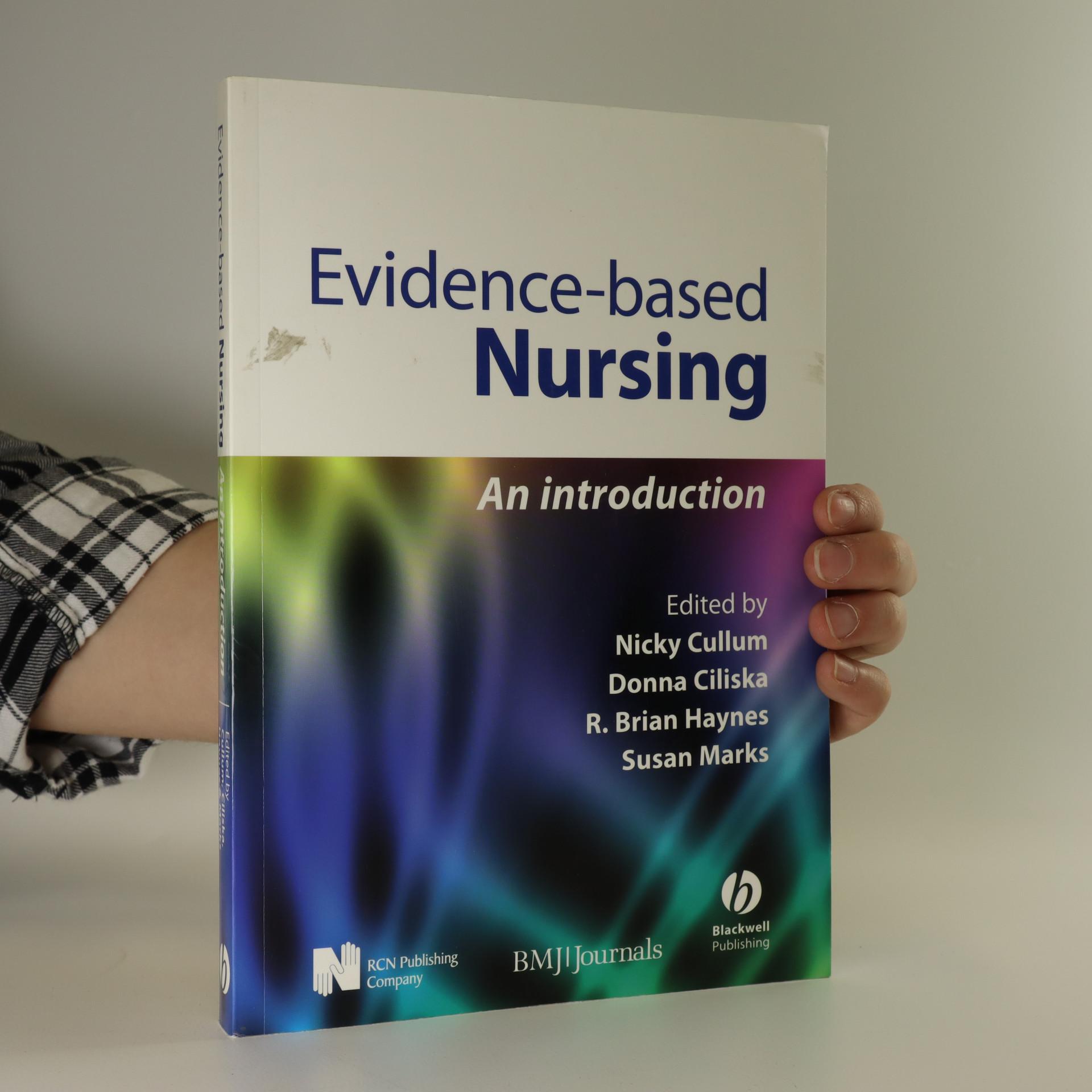 antikvární kniha Evidence-based nursing an introduction, neuveden