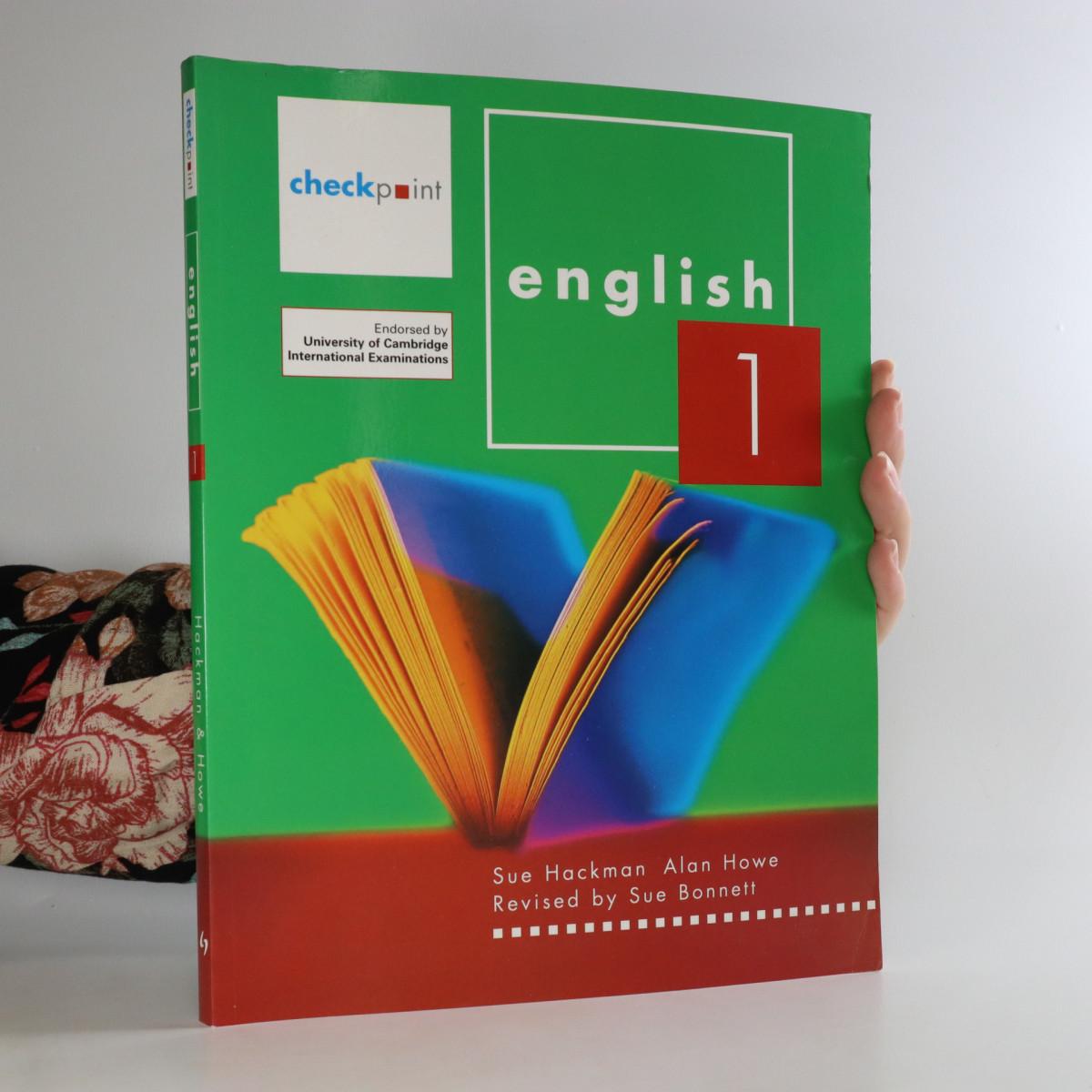 antikvární kniha Checkpoint English 1, 2010