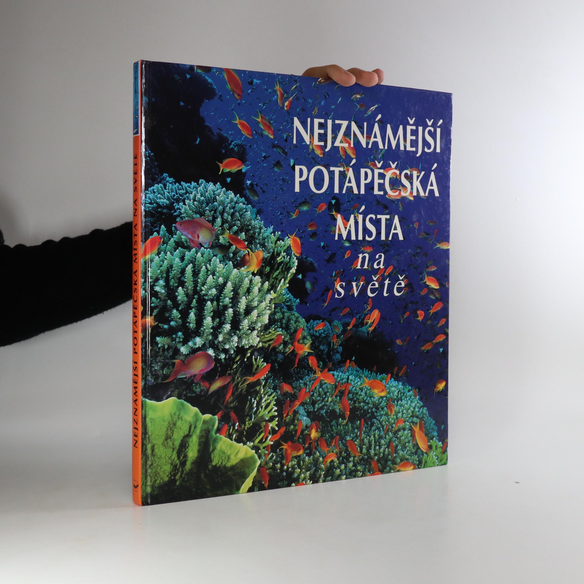 antikvární kniha Nejznámější potápěčská místa na světě, 1999