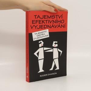 náhled knihy - Tajemství efektivního vyjednávání