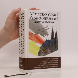 náhled knihy - Německo-český, česko-německý studijní slovník