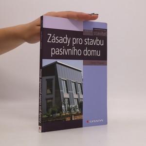 náhled knihy - Zásady pro stavbu pasivního domu