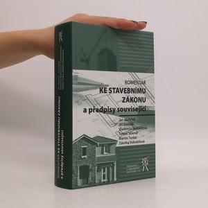 náhled knihy - Komentář ke stavebnímu zákonu a předpisy související