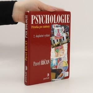 náhled knihy - Psychologie : příručka pro studenty