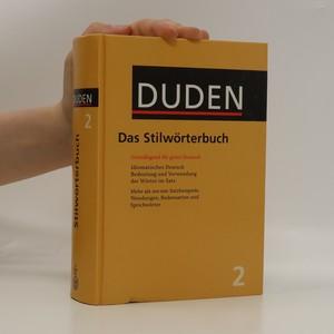 náhled knihy - Duden. Bd. 2, Das Stilwörterbuch
