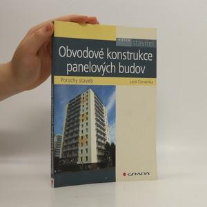 náhled knihy - Obvodové konstrukce panelových budov : poruchy staveb