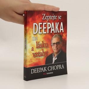 náhled knihy - Zeptejte se Deepaka na lásku a vztahy