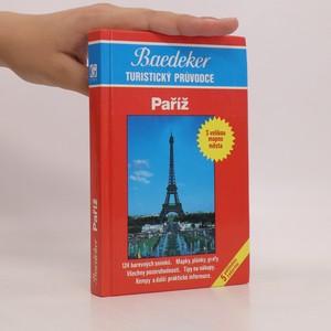 náhled knihy - Baedekr - turistický průvodce. Paříž