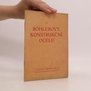 náhled knihy - Böhlerovy konstrukční ocele