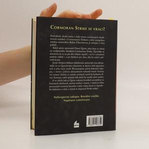 antikvární kniha Hedvábník. Druhý případ Cormorana Strika, 2015