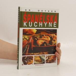 náhled knihy - Španělská kuchyně