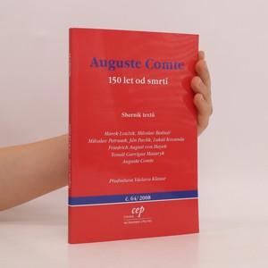 náhled knihy - Auguste Comte. 150 let od smrti