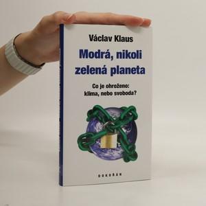 náhled knihy - Modrá, nikoli zelená planeta