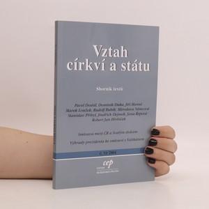 náhled knihy - Vztah církví a státu. Sborník textů