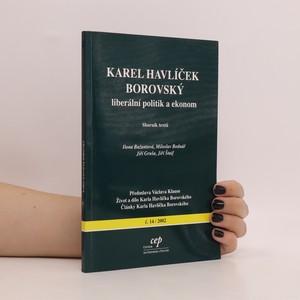 náhled knihy - Karel Havlíček Borovský : liberální politik a ekonom