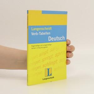 náhled knihy - Langenscheidt Verb-Tabellen Deutsch