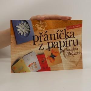náhled knihy - Přáníčka z papíru